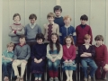 6th class 1982/1983 with their teacher, the late Henry Hamilton
