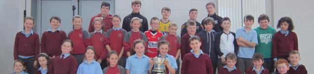 Na Fianna Minor Hurling Team Visit 002